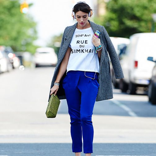 #StreetStyle #blue