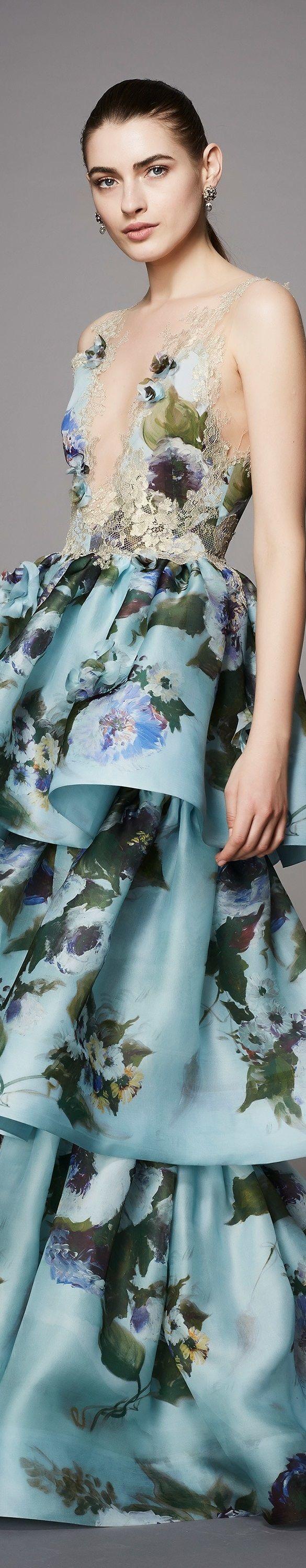 Marchesa couture pre fall 2017 vogue