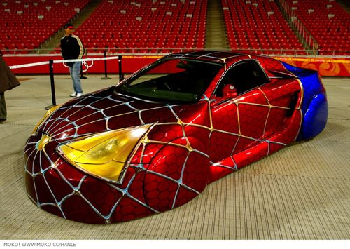 spiderman car wow right this is a perfect example of a very