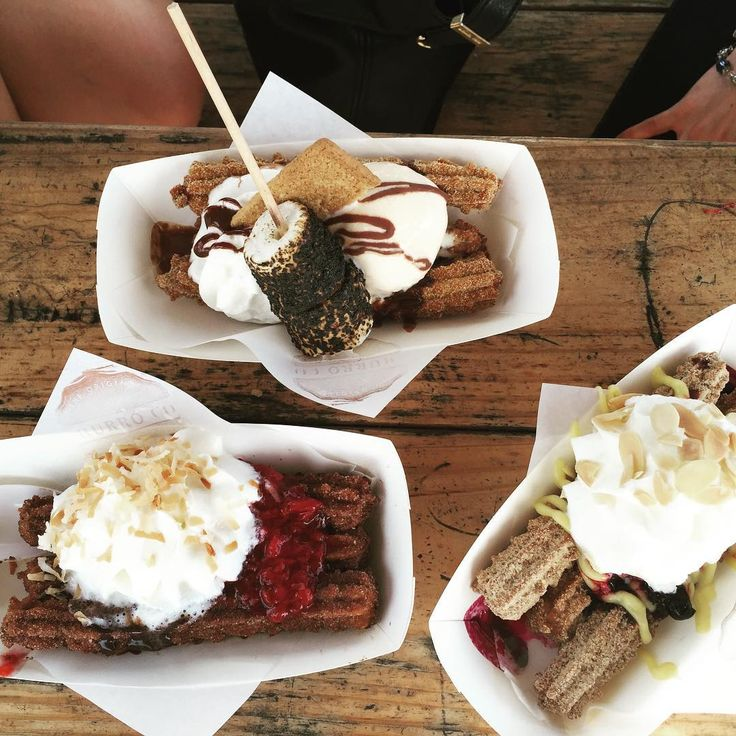 "Tommy Vasquez on Instagram: ""WOW!!!! @churrocoaustin ain't playing!!! If in Austin, it is a must!!!!!!! I thought I knew what a good churro was from the "" Feria "" in Mexico was but Jeez! They've taken it to a whole different level. We ordered the "" Rico Suave , Blue Ivy, and Camp Fire"" BAM!!! #nonewfriends #churros #churrofriends #atx #texas #icecream #beer #forkedup #eatlikeyoureondeathrow #cajeta #dessert #whippedcream"""