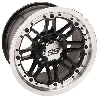 4/110 Itp Ss216 Alloy Series Wheel 12x7 5.0 + 2.0 Machined Bombardier Honda Etc #atv #parts #wheels, #tires #1228504404b