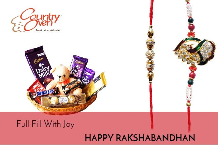 Make this Raksha Bandhan special for your brother by purchasing a gift for him along with your rakhi.! Order online @ www.countryoven.com. ‪#‎RakshaBandhan‬ ‪#‎RakhiGifts‬