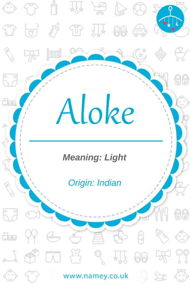 Aloke is a beautiful baby boys' name of Indian origin that means 'light'. Find more baby name inspiration with the Namey app www.namey.co.uk