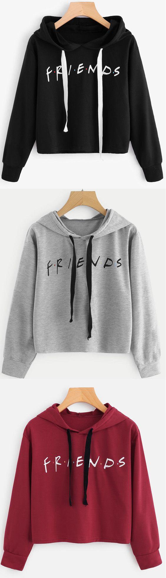 Friends Sweatshirt In White