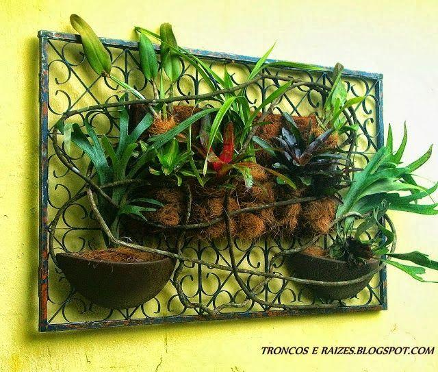 ideias jardins verticais : ideias jardins verticais:Mais de 1000 ideias sobre Jardins Verticais no Pinterest