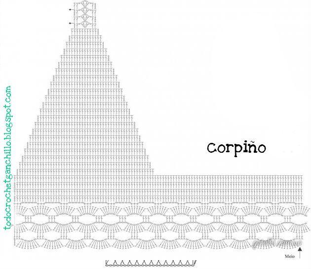 243 best Croptops Crochet images on Pinterest | Crop tops, Short ...