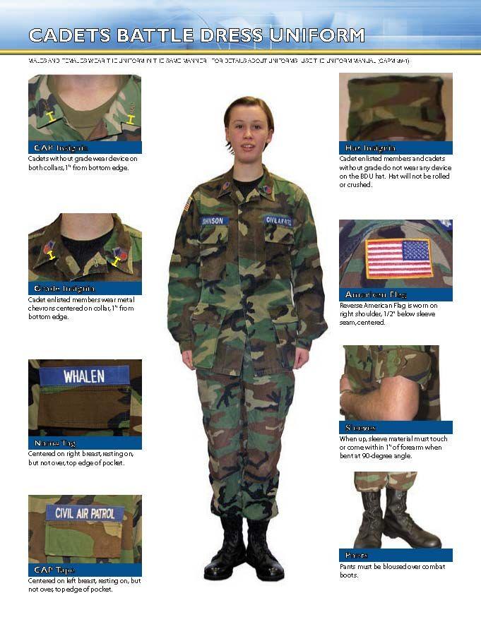 Cadet Battle Dress Uniform ee3de540b39
