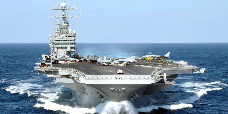 "U.S. Navy on Twitter: ""#OTD in 1992: #USSGeorgeWashington, 6th aircraft carrier in Nimitz-class, commissioned in Norfolk, Va. #CVN73 https://t.co/liz9cY12uQ"""