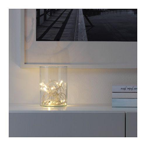 SÄRDAL LED light chain with 12 lights  - IKEA