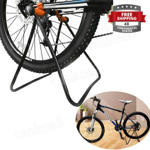 Foldable-Bicycle-Stand-Easy-for-Adjusting-Drive-Train-Brakes-Cleaning-Training