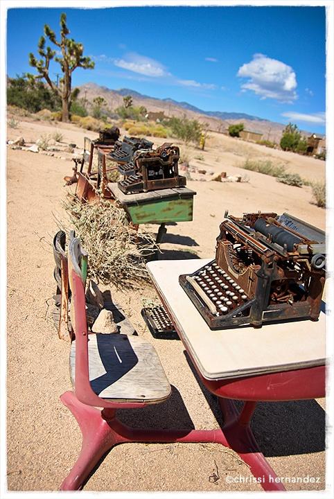 Wandering through country western wonders of Pioneer Town in Yucca Valley, CA.