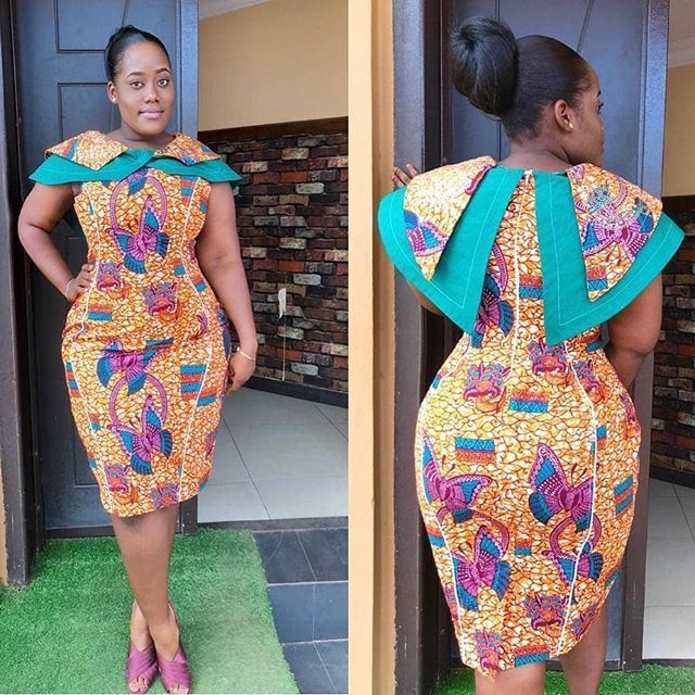 Short African Print Dress Styles Ankara Designs Short