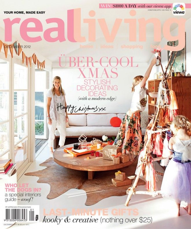 In/Out - REAL LIVING: DECEMBER 2012