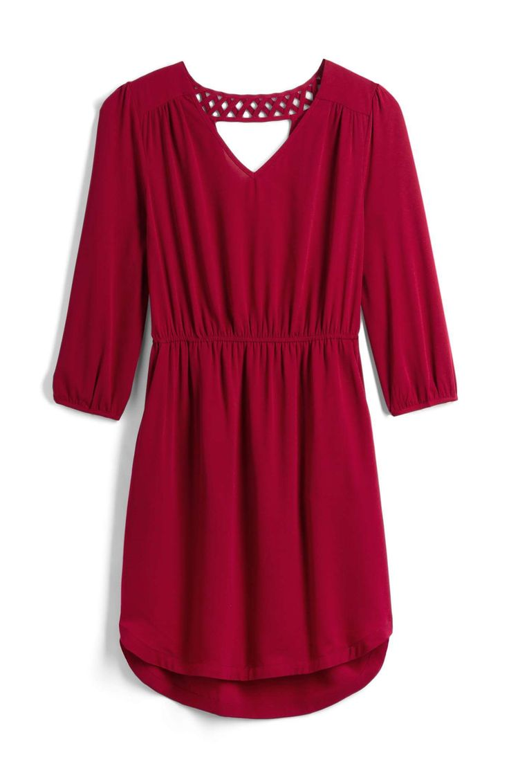 Love this red dress from Stitch Fix