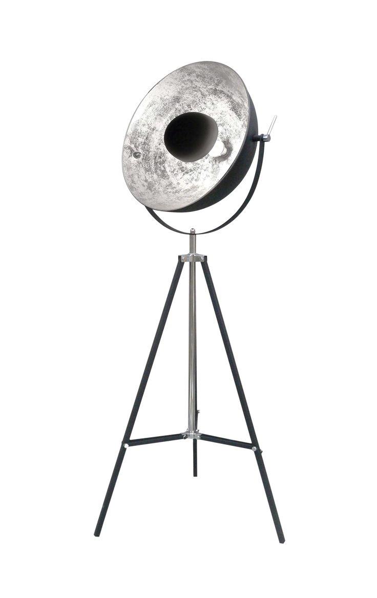 Inspiration industrielle avec le lampadaire MOVIESTAR - BUT