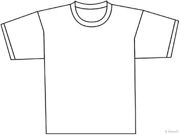 Tee-rrific T-shirt Template and Blank Template | TpT ...