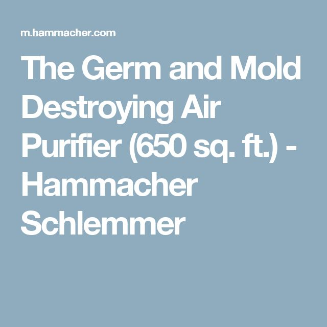 The Germ And Mold Destroying Air Purifier 650 Sq Ft Hammacher Schlemmer Health Mycotoxins Pinterest