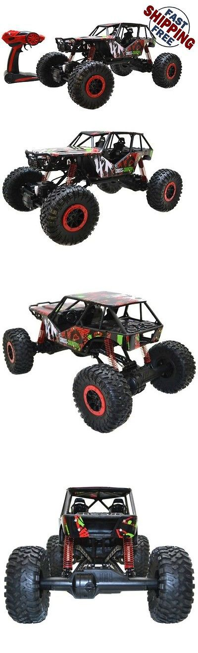 Remote-Controlled Toys 84912: Rock Crawler Rc Car 4 Wheel Drive Radio Remote Control Toy Best Gifts For Boys -> BUY IT NOW ONLY: $65 on eBay!