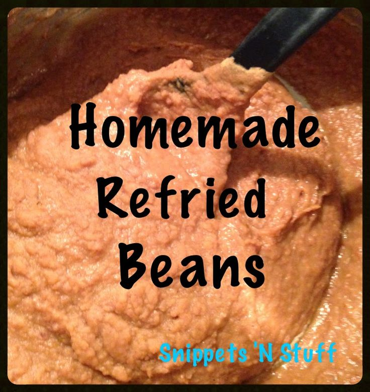 how to make canned refried beans taste better