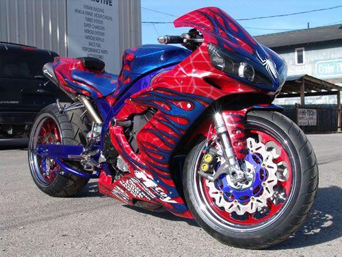 Custom R1 Hayabusa Motorcycle Paint Sportbikes Pictures Sportbike