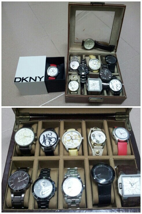 Fossil watch box removed from 6 to 10 pcs #fossilmy#fossil