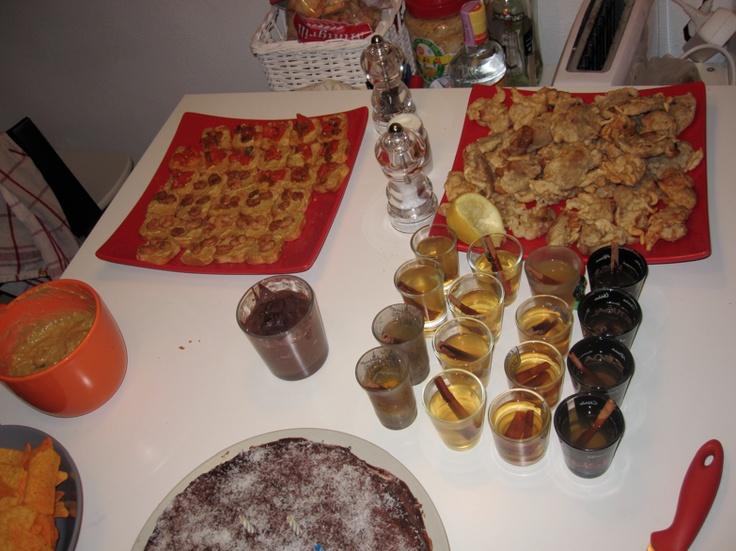 Erasmus dinner party, Brazil, Spain, Portugal, Grece, France, Germany..., Lisboa - Portugal