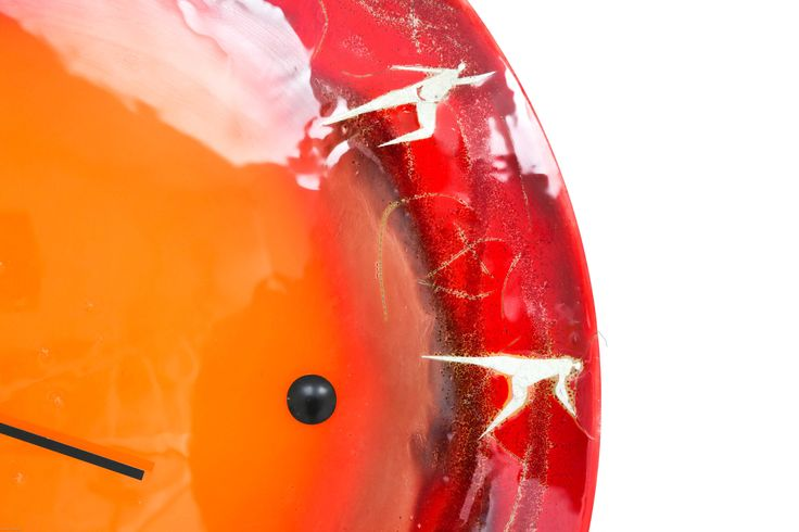 CLOCK CLOSE-UP // Unique and exclusive glassart installations made by glass artist Branka Lugonja.