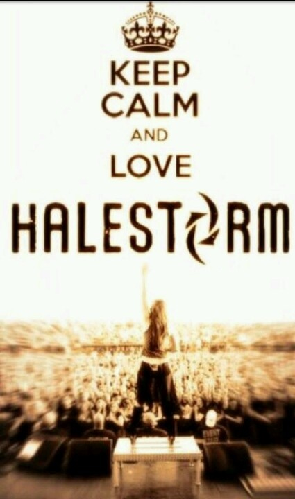 Halestorm + Calm   Just doesn't go together!  \m/