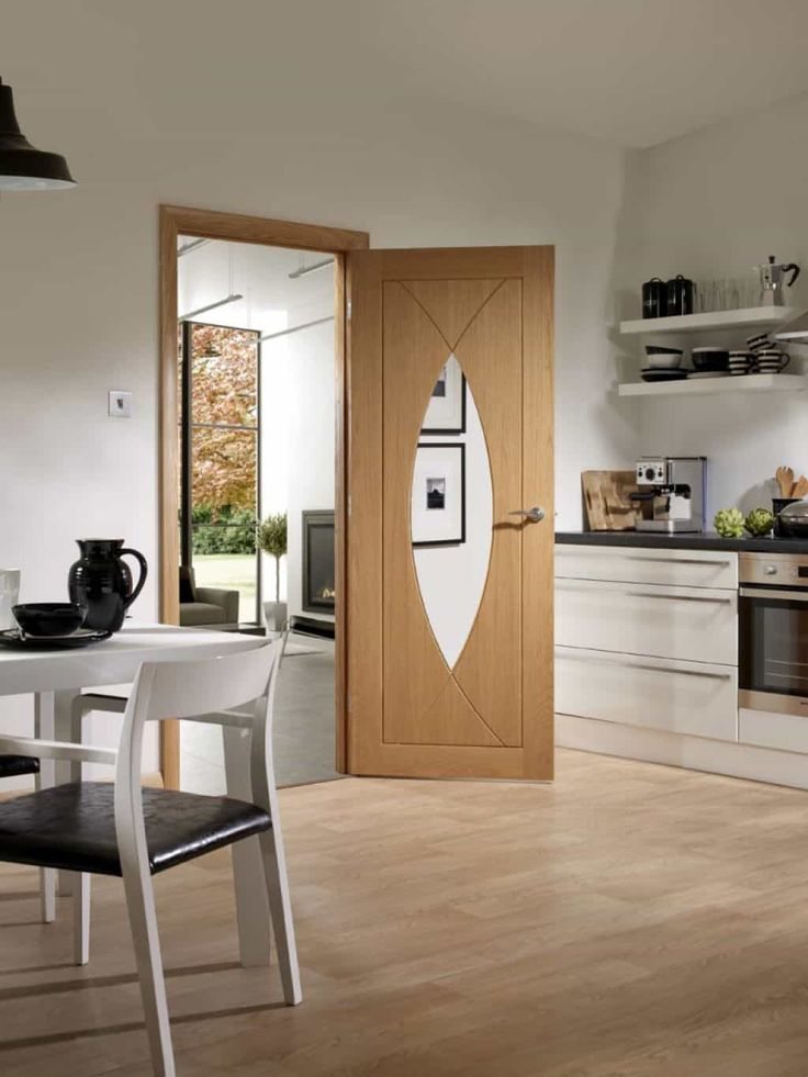 Rich Natural Oak Interior Doors