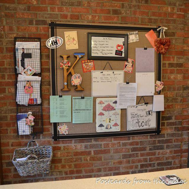 Unique Bulletin Board Storage Ideas