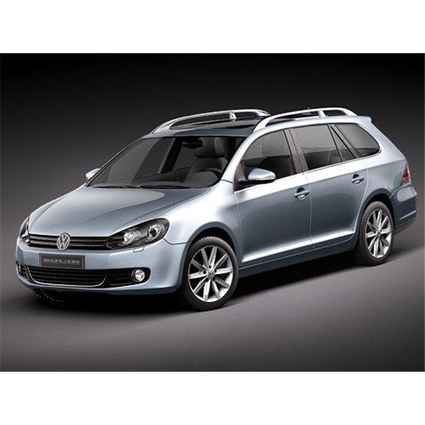 Volkswagen Golf VI Variant - 3D Model