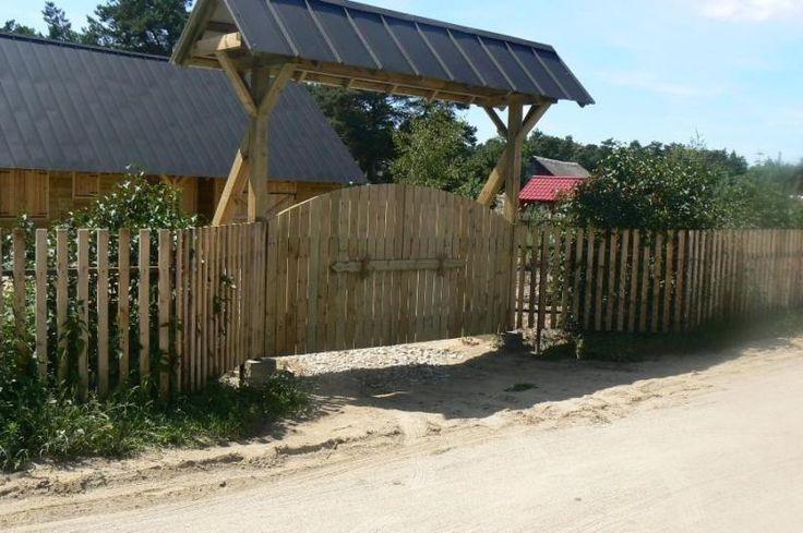 Bramy i ogrodzenia drewno-metal,altanki,dekoracje z drewna