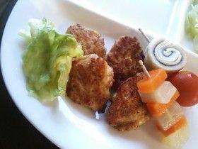 合挽き肉で◎ふわふわ豆腐ナゲット
