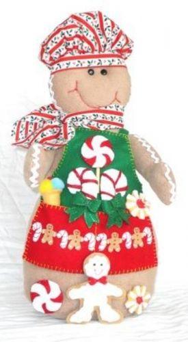Es un muñeco cn forma de galleta de jengibre