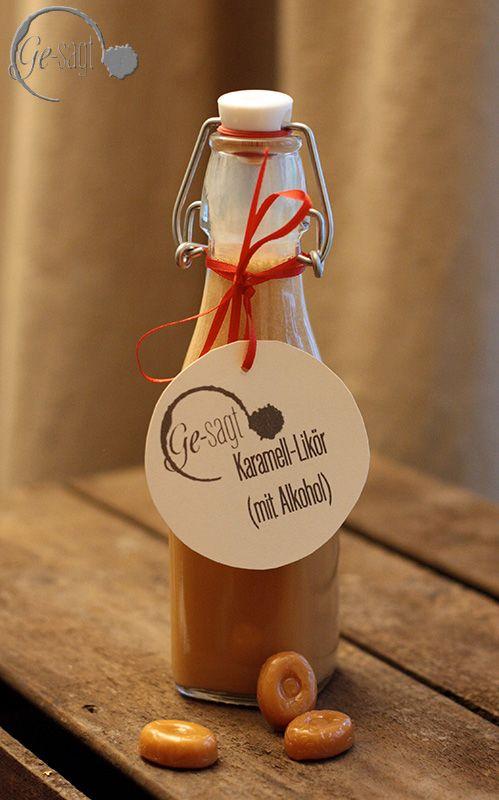 PAMK Xmas 2013 - lasst uns froh und lecker sein - Post aus meiner Küche - Karamell Likör