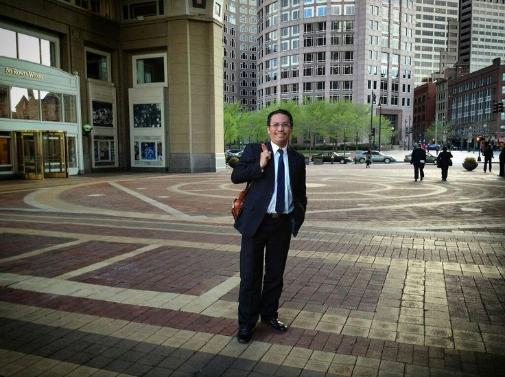 3 years ago, after PGN's global bond roadshow meetings along day in Boston Waterfront, Boston, Massachusetts, US, on May 15, 2014.