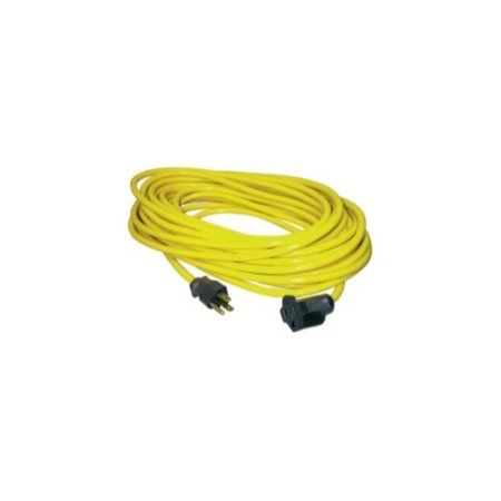25' Outdoor Extension Cord, Yellow