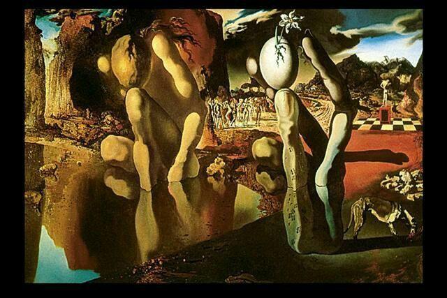 Salvatore Dali | la metamorphose de narcisse