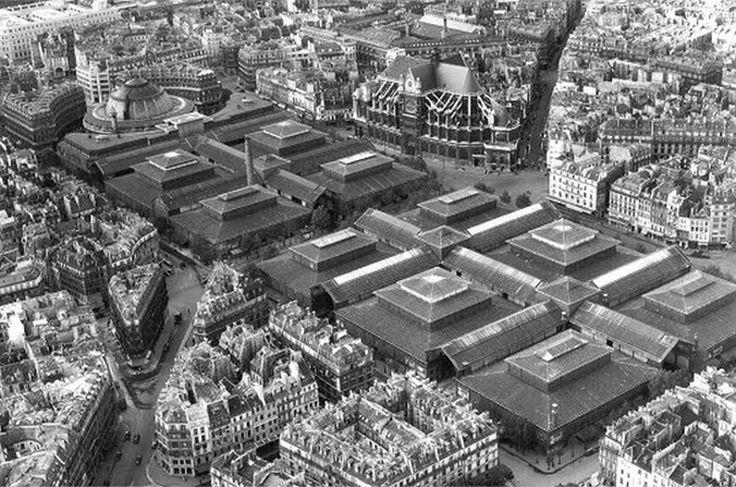 Les anciennes Halles de #Paris