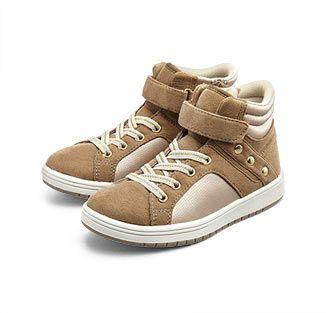 Lányka sneaker cipő, világosbarna