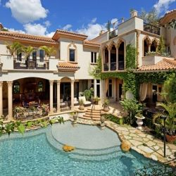 honeymoon?Outdoor Living, Dreams Home Interiors, Siesta Keys, Interiors Design, Dreams House, Pools, Bedrooms Decor, Sarasota Florida, Mexicans Style Home