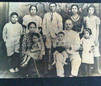 Family of Cornelis de Kock and Joseph Nijwit in Pasuruan Malang Surabaya in 1940's