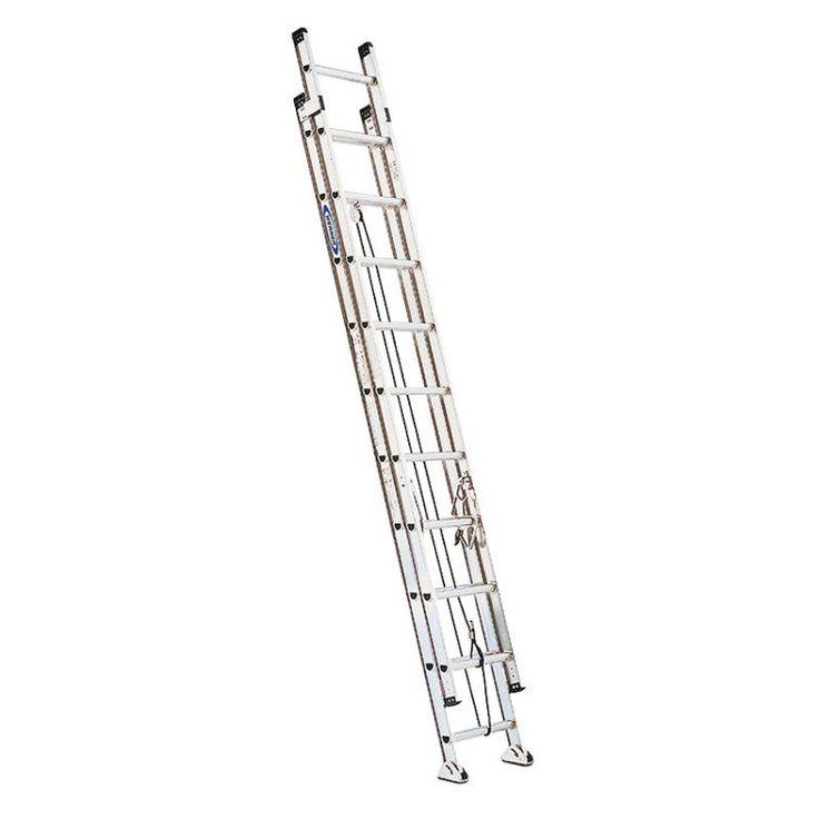 Werner 12 ft. Aluminum Extension Ladder - 3720-4013