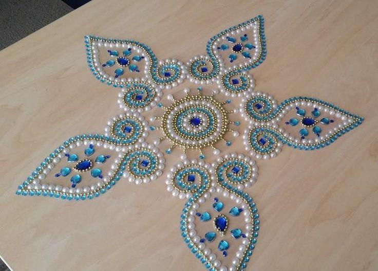 Beads Rangoli Kolam  WanPlusStore  Rangoli Designs