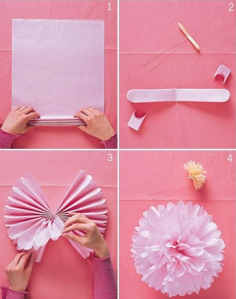 Tissue paper transformed!