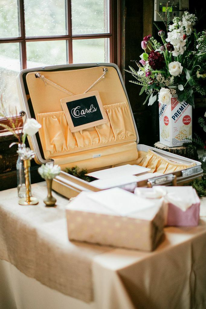 Featured Photo: Emily Wren Photography; Rustic Pennsylvania Wedding at Grace Winery - wedding guest book idea