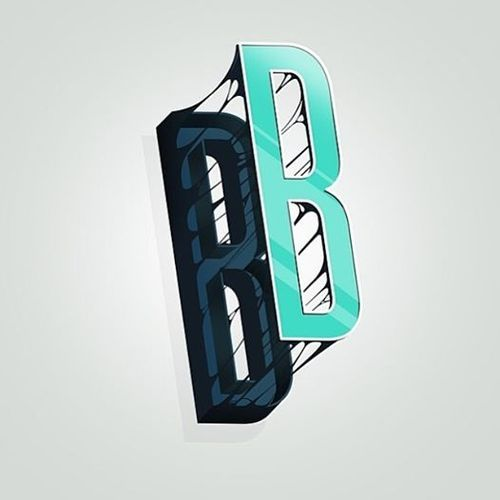 Letter B | type :: typography | Text effects