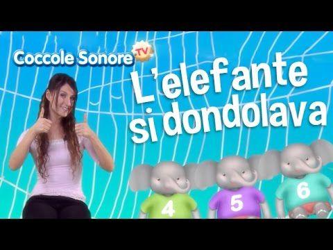L'elefante si dondolava - Balliamo con Greta - Canzoni per bambini di Coccole Sonore - YouTube