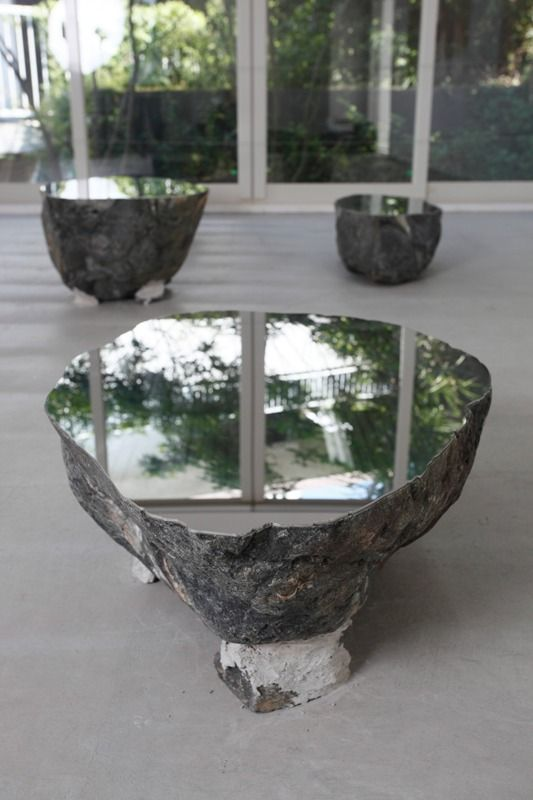 Nobuo Sekine. (関根伸夫, Sekine Nobuo), born in [1942], is a Japanese sculptor currently living in both Tokyo, Japan, and Los Angeles, California.  He is one of the key members of Mono-ha, a group of artists who became prominent in the late 1960s and 1970s. The Mono-ha artists explored the encounter between natural and industrial materials.