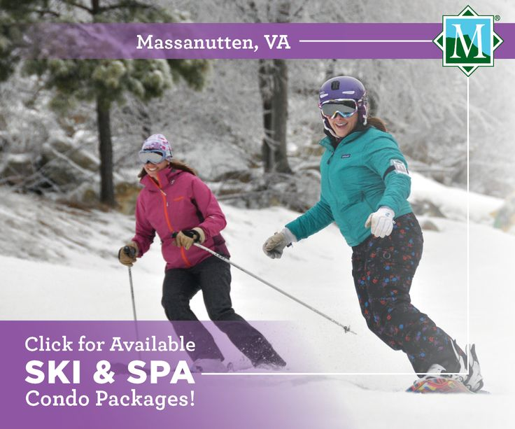 Ski & Spa Packages at Massanutten Resort! #skitheeast #massresort #vacation #getaway #travel